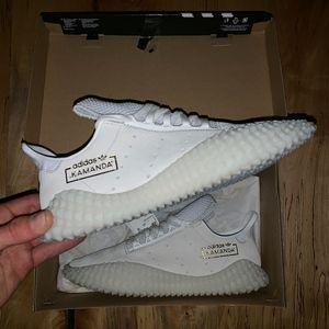 Adidas Originals $130 Kamanda 2019 White Gold